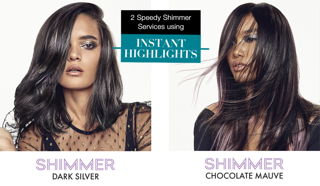 2 Speedy Shimmer Services using Instant Highlights